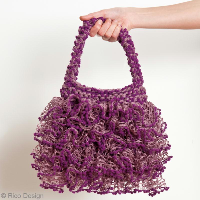 patron gratuit sac a main tricot