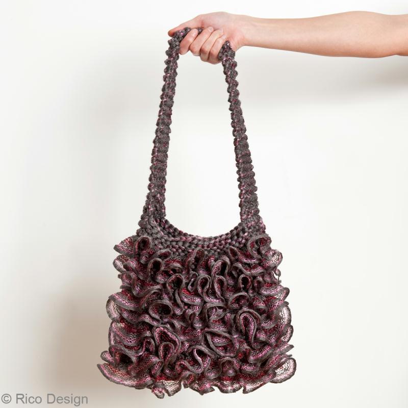 Comment tricoter un sac au crochet  Innatia