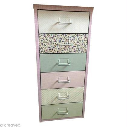 Relooking d'un meuble à tiroirs