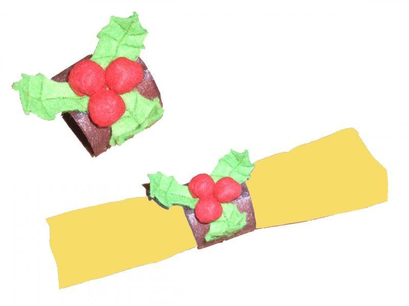 Rond de serviette pour jour de f te id es et conseils - Faire des ronds de serviette pour noel ...