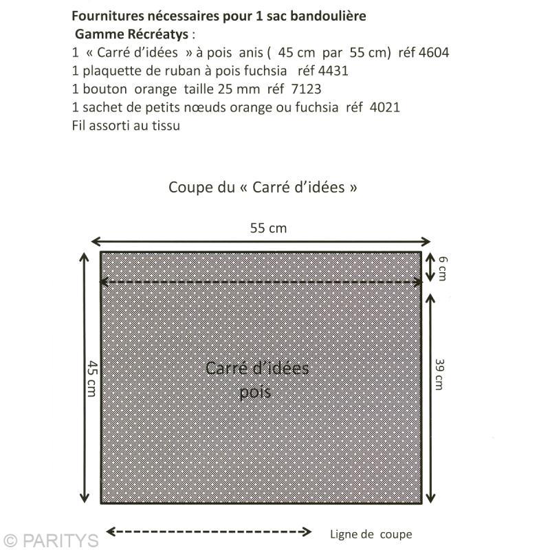 fabriquer un sac bandouli re id es et conseils couture. Black Bedroom Furniture Sets. Home Design Ideas