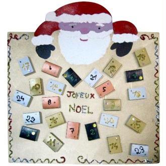 calendrier de l 'avent : le Père Noël aux bonbons