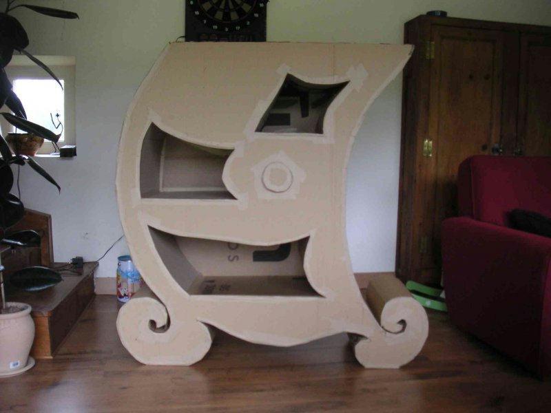 d corer un meuble en carton id es et conseils meuble en carton. Black Bedroom Furniture Sets. Home Design Ideas