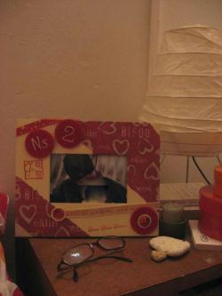 cadre photo pour mon valentin nous deux la vie est belle id es et conseils home d co. Black Bedroom Furniture Sets. Home Design Ideas