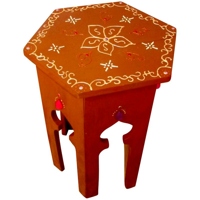 Relooker une table en une table marocaine id es et for Table a the marocaine