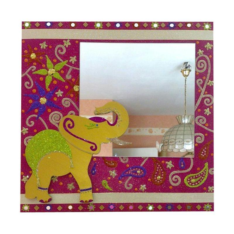 Miroir customis dans l 39 esprit bollywood id es et for Miroir dans l art