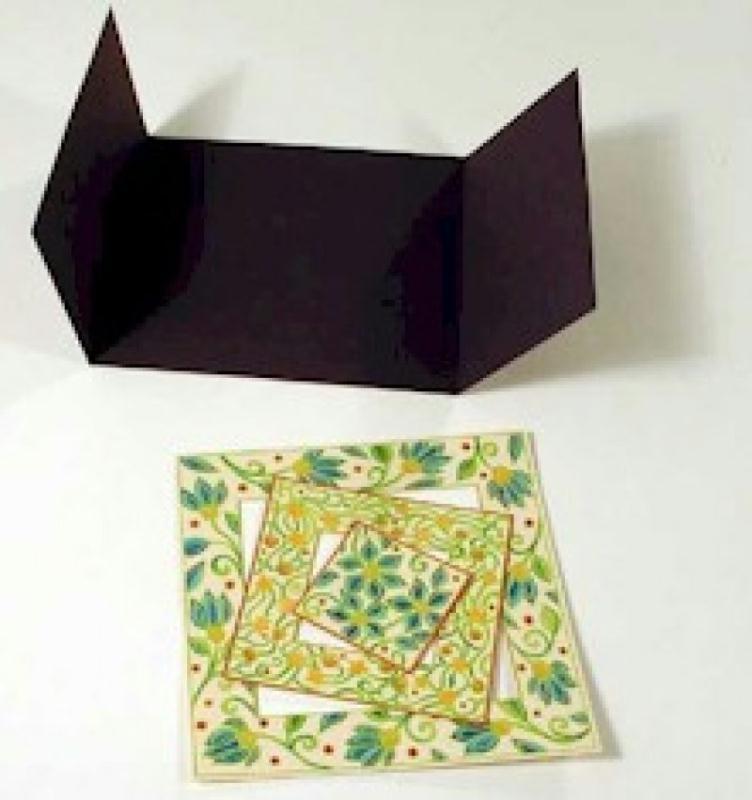 faire une carte 3d avec un tampon ides et conseils party invitations ideas. Black Bedroom Furniture Sets. Home Design Ideas