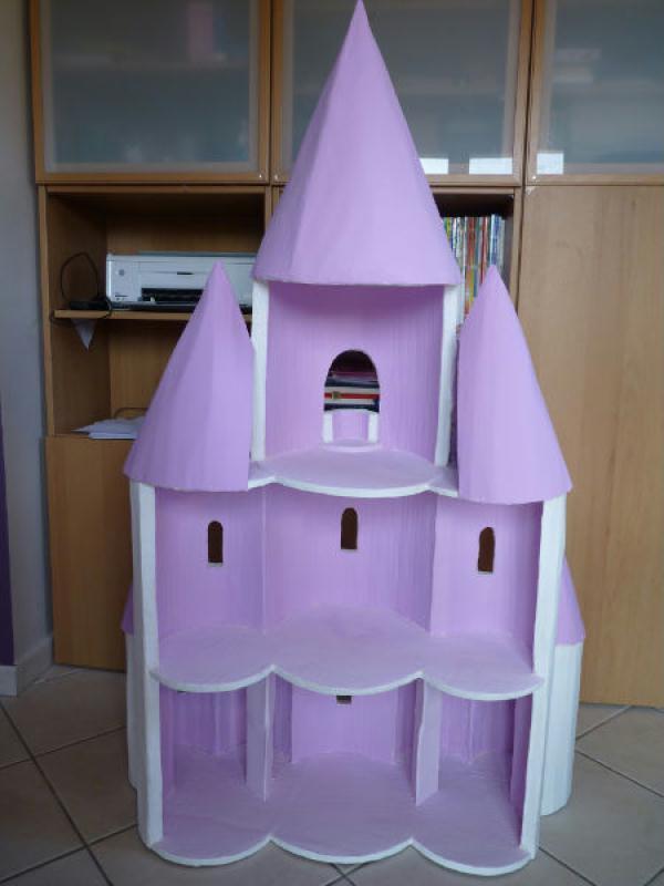 fabriquer un ch teau de princesse id es et conseils maquettes et miniatures. Black Bedroom Furniture Sets. Home Design Ideas