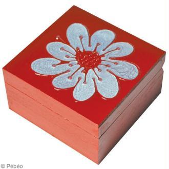 Peinture fantasy prisme brillant 45 ml peinture - Comment fabriquer une boite a bijoux en bois ...