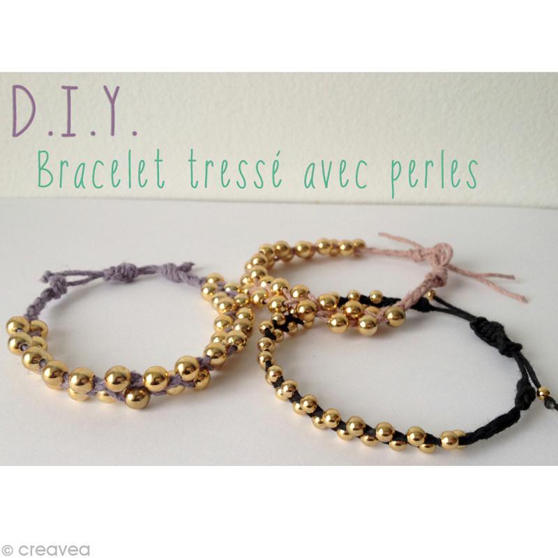 bracelet tress id es et conseils perles et bijoux. Black Bedroom Furniture Sets. Home Design Ideas