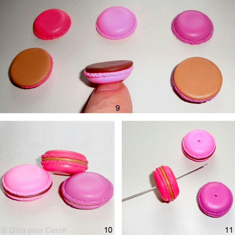 tuto porte cl macaron en p te cernit id es et conseils bijoux fimo. Black Bedroom Furniture Sets. Home Design Ideas