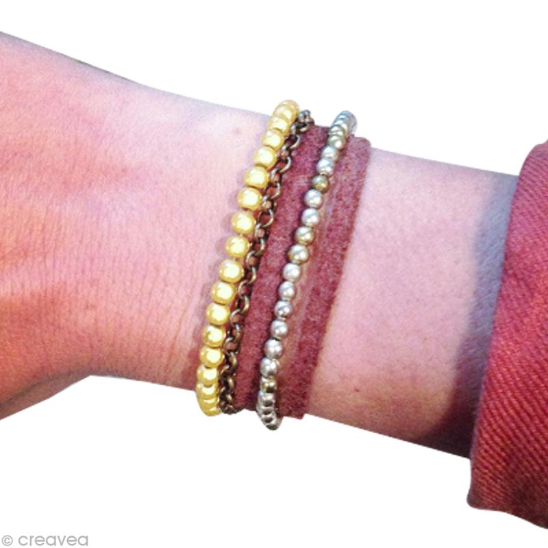 tuto bracelet multirang id es et conseils perles et bijoux. Black Bedroom Furniture Sets. Home Design Ideas