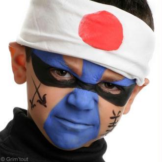 Tuto : Maquillage Guerrier Ninja