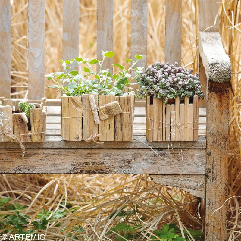 Decoration Jardin Avec Bois - Decorating Ideas