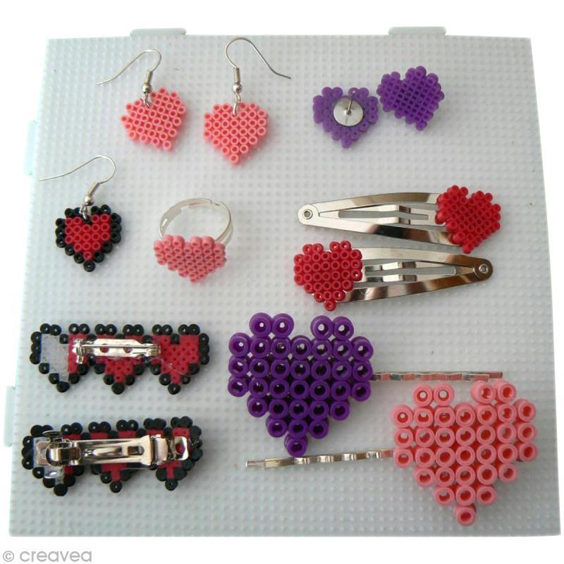 Tutoriel pour cr er des bijoux en perles hama id es et conseils perles repasser hama - Faire des bijoux ...