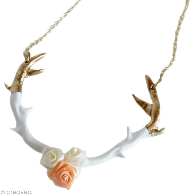 Image Bois De Cerf : Id?es cr?atives > Id?es Perles et Bijoux > Le collier bois de cerf