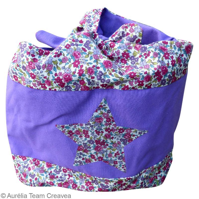 tuto sac de plage en baluchon id es et conseils couture. Black Bedroom Furniture Sets. Home Design Ideas