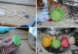 4. Montage des bonbons