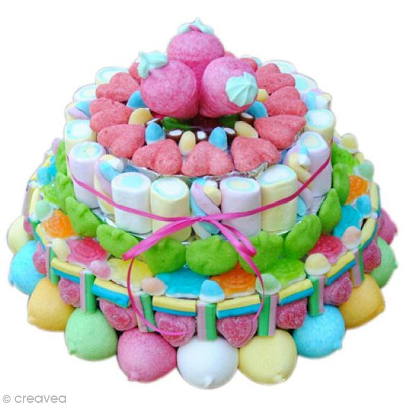 R aliser un g teau de bonbons id es et conseils - Idee paquet bonbon pour anniversaire ...