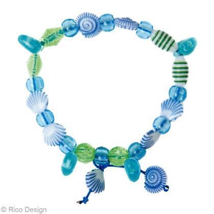 bracelet d 39 t coquillage diy id es et conseils perles et bijoux. Black Bedroom Furniture Sets. Home Design Ideas