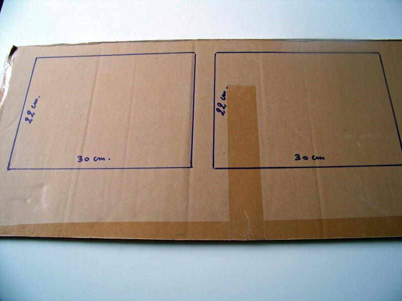 tuto fabriquer un cadre en carton id es et conseils home d co cadre tableau. Black Bedroom Furniture Sets. Home Design Ideas
