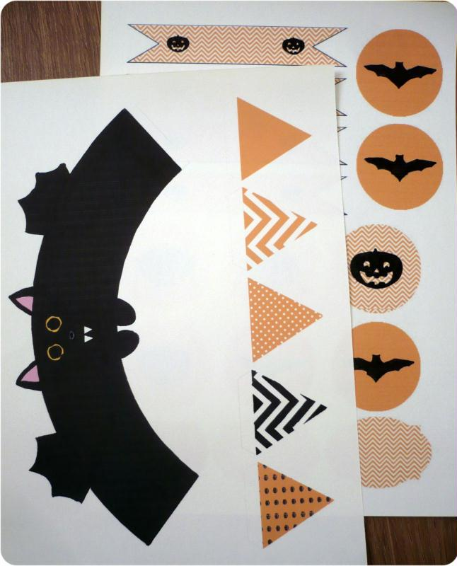 faire une d coration de table pour halloween id es et. Black Bedroom Furniture Sets. Home Design Ideas