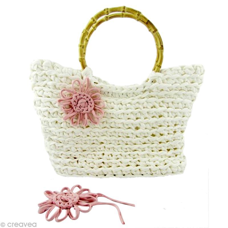 tuto hoooked un sac panier en fil zpagetti au crochet id es et conseils crochet et tricot. Black Bedroom Furniture Sets. Home Design Ideas