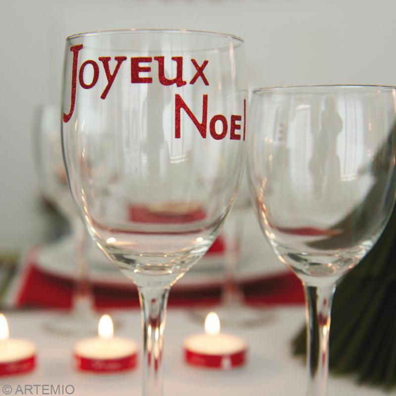 D coration de table noel classique id es et conseils for Decoration verre