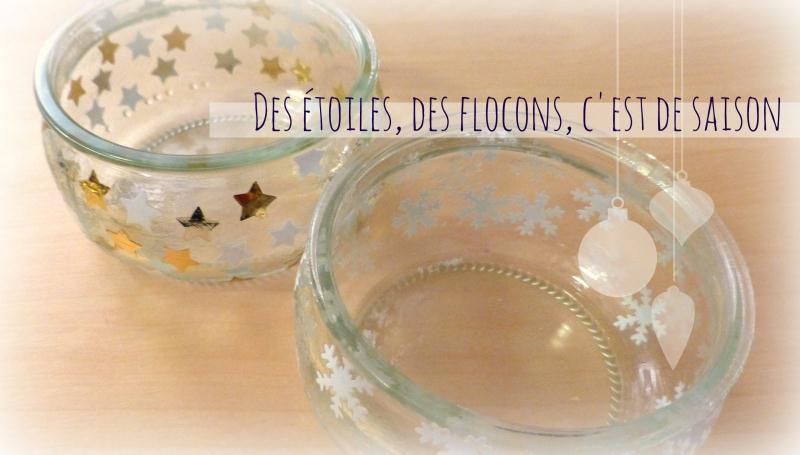 Fabriquer des photophores avec des pots en verre des photophores de no l av - Comment decorer un verre ...