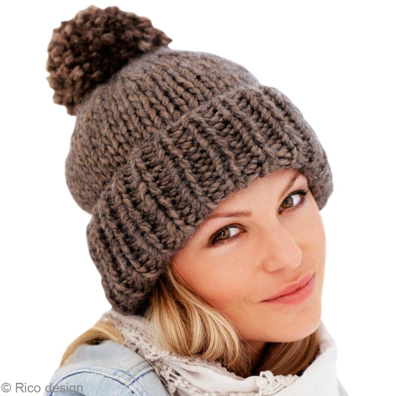 modele tricot bonnet simple