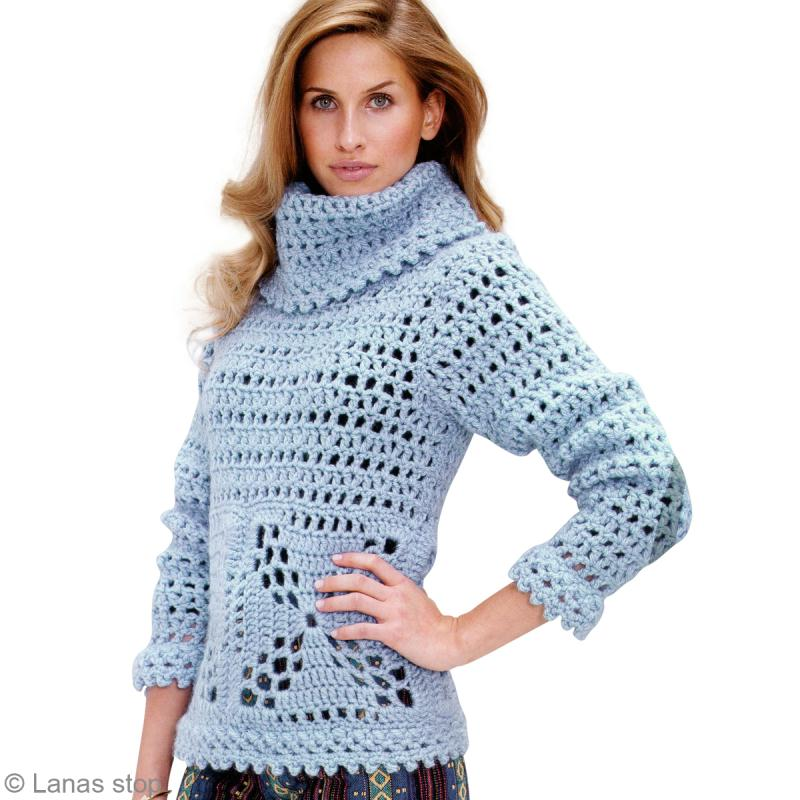 apprendre a tricoter pull femme
