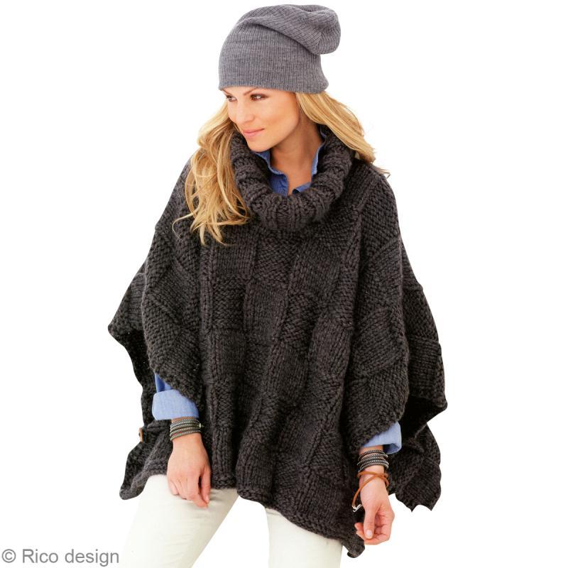 mod le tricot poncho femme id es et conseils crochet et tricot. Black Bedroom Furniture Sets. Home Design Ideas