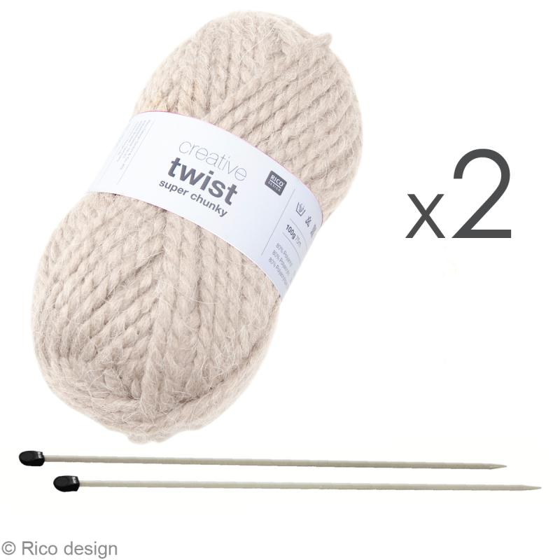 Tuto tricot echarpe grosse maille - Tricot grosse maille ...
