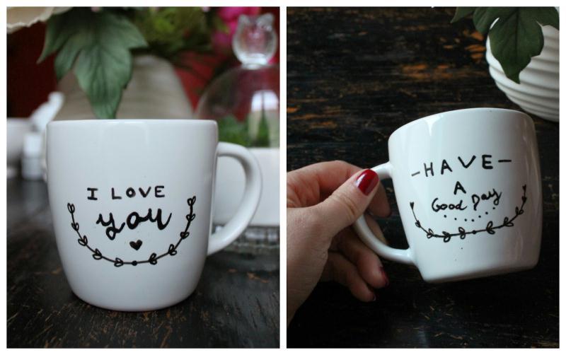 tuto personnaliser un mug avec de la peinture porcelaine id es et conseils peinture multi. Black Bedroom Furniture Sets. Home Design Ideas