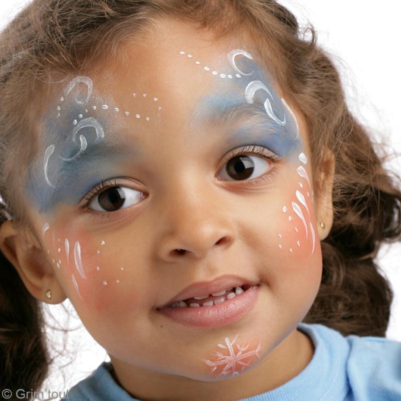 maquillage enfant princesse d 39 hiver id es et conseils maquillage. Black Bedroom Furniture Sets. Home Design Ideas