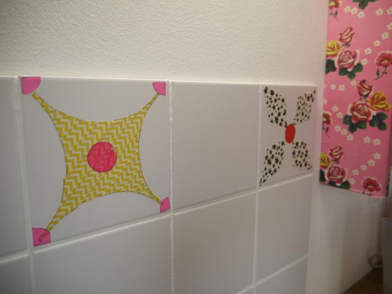 diy d corer sa cuisine avec du masking tape id es et conseils d coration. Black Bedroom Furniture Sets. Home Design Ideas