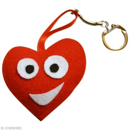Fabriquer un porte clefs pour la saint valentin id es et - Idees pour la saint valentin ...