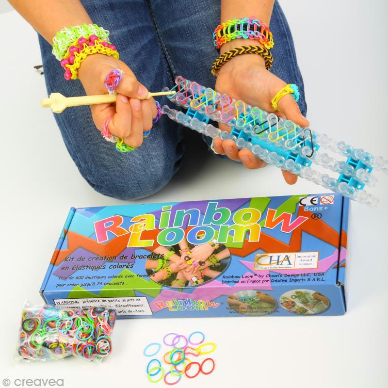 Rainbow loom vid o instructions en fran ais pour faire un bracelet zig zag id es et conseils - Faire des bracelets elastiques ...