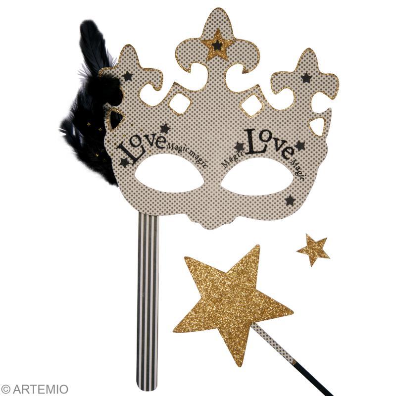Un masque de magicienne pour le carnaval le tuto id es - Idee pour le carnaval ...