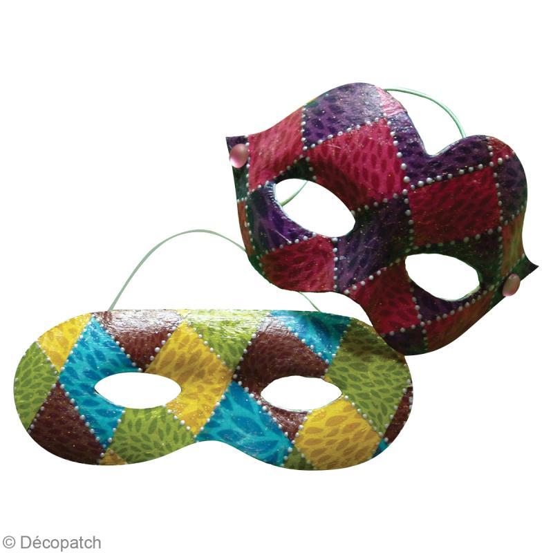 Masque de carnaval en d copatch id es et conseils - Masque de carnaval a fabriquer ...