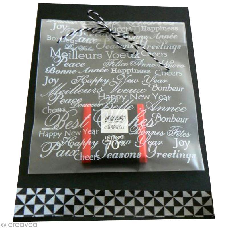 tuto carte de voeux croquer id es et conseils carterie. Black Bedroom Furniture Sets. Home Design Ideas