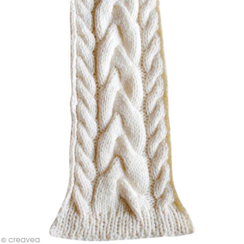 apprendre a tricoter une echarpe avec torsade