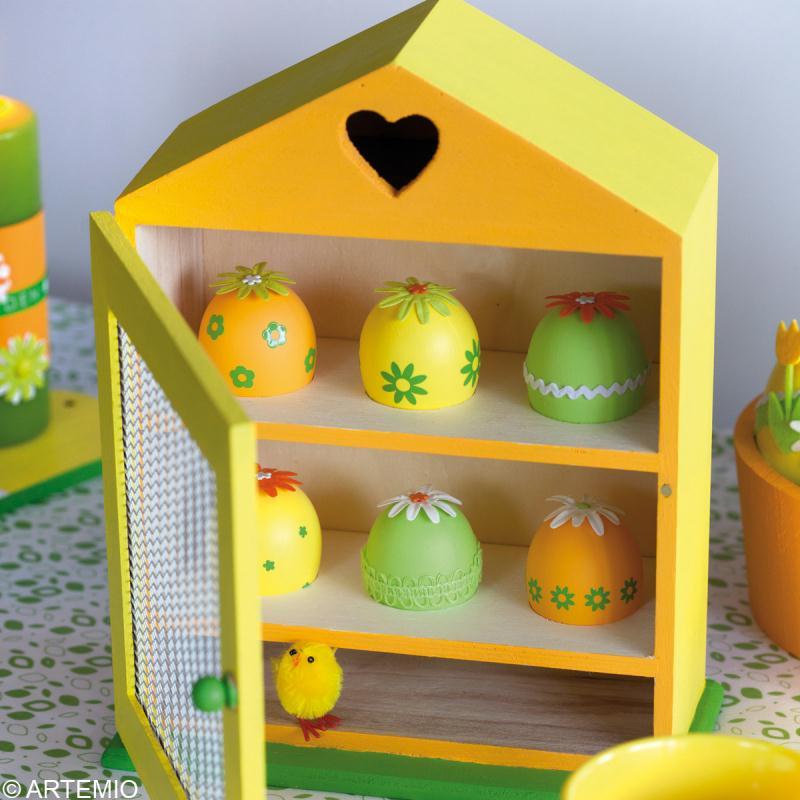 D coration 13 oeufs paques decoration idees dijon for Decoration de paques pas cher