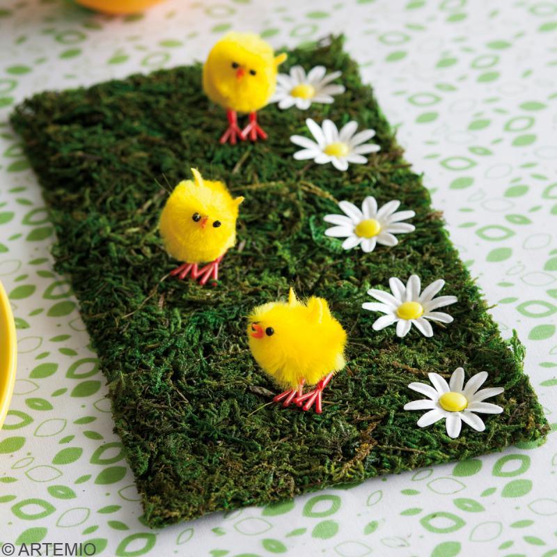 Diy d co de table pour p ques porte serviettes for Decoration pour paques
