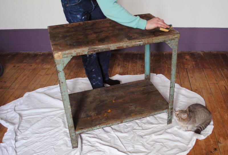 Sublimer un meuble ancien id es et conseils r cup ration - Decapage meuble ancien ...