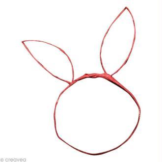 DIY oreilles de lapin pour Pâques !