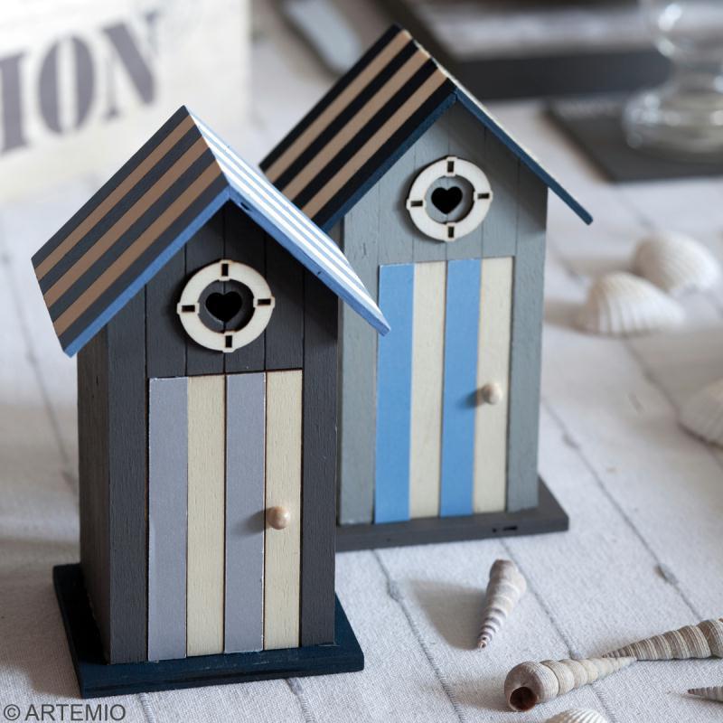 d coration de table th me mer 2 2 oiseau et phare. Black Bedroom Furniture Sets. Home Design Ideas