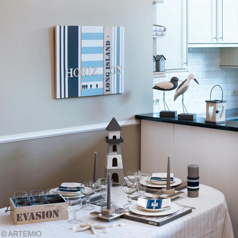 d coration de table th me mer 2 2 oiseau et phare id es et conseils d coration de table. Black Bedroom Furniture Sets. Home Design Ideas