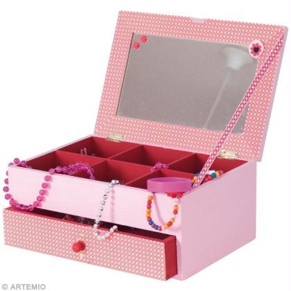 diy d coration d 39 une bo te bijoux id es et conseils d coration. Black Bedroom Furniture Sets. Home Design Ideas