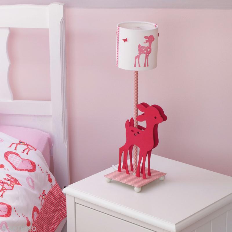 personnaliser une lampe de chevet d 39 enfant id es et. Black Bedroom Furniture Sets. Home Design Ideas
